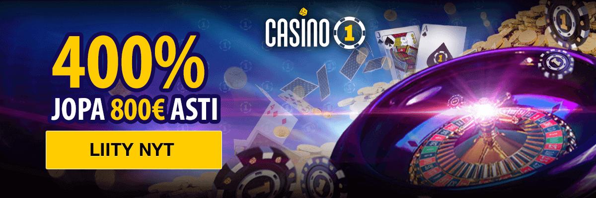 Parhaat nettikasinot Casino1Club banner