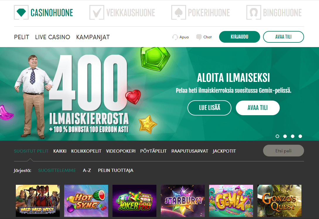Bonus Casinohuone