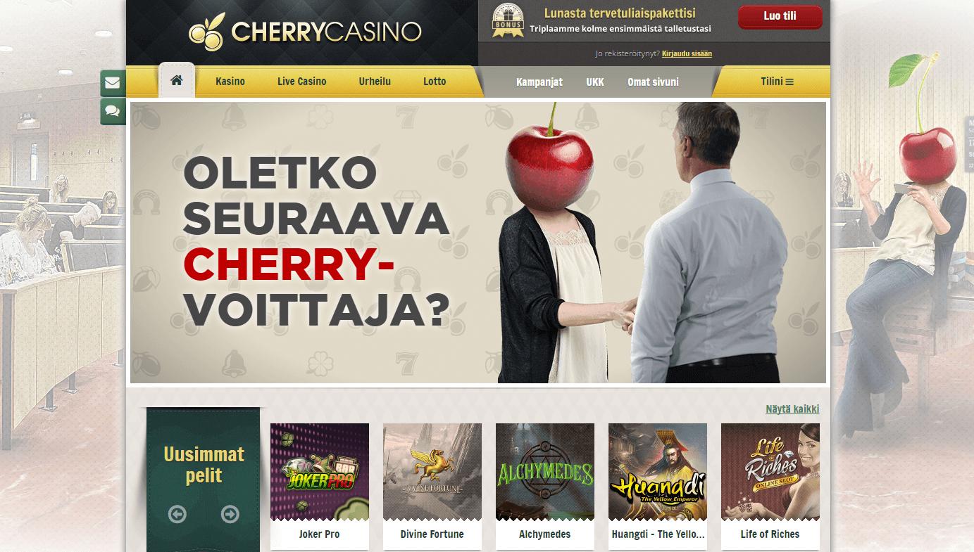 Cherry Casino festari kampanja