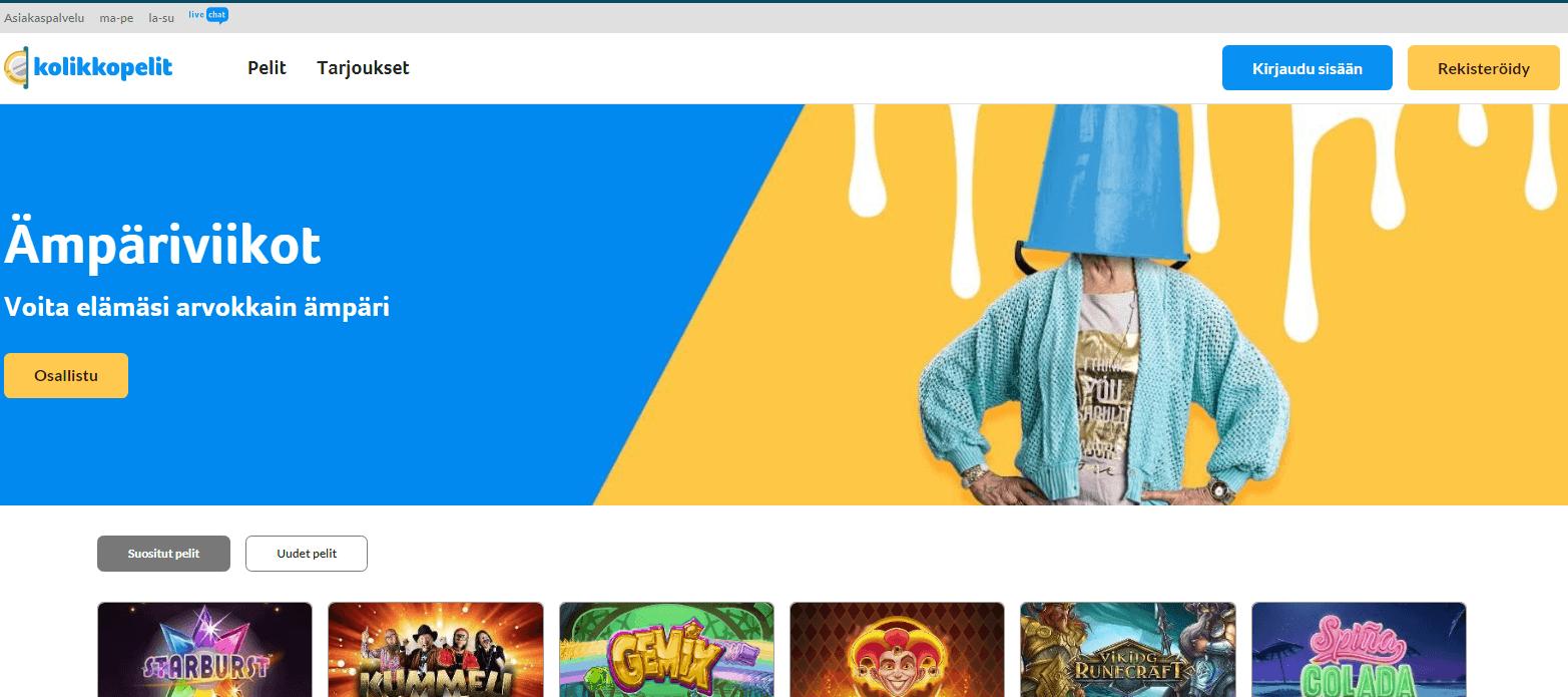 Kolikkopelit.com elokuun kampanjat