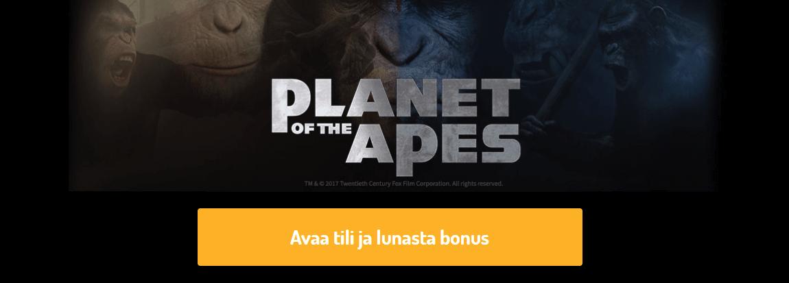 Ilmaiskierrokset Planet of the Apes