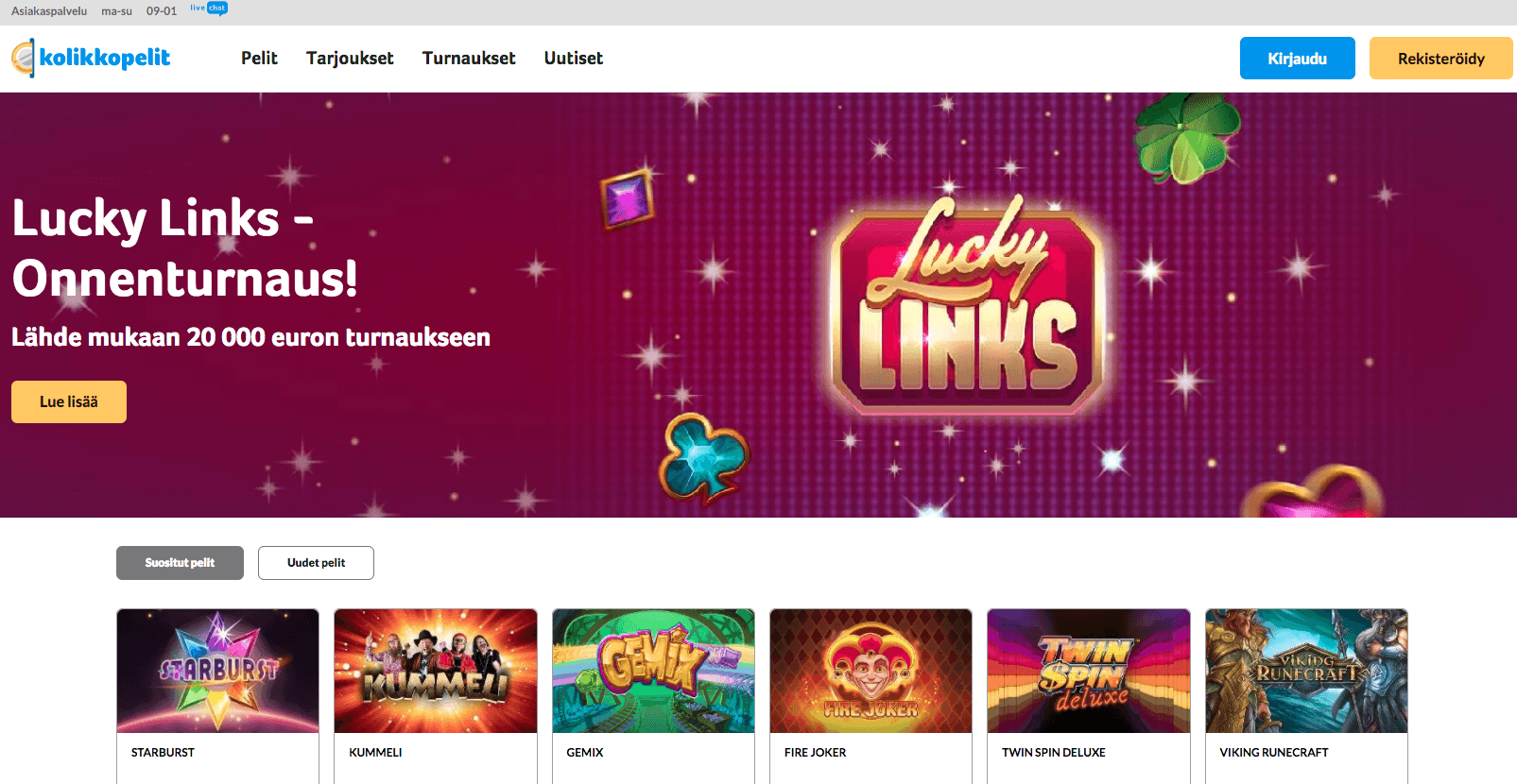 Lucky Links turnaus