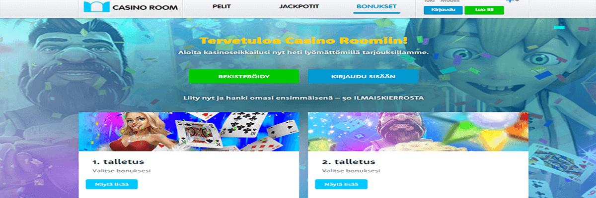 Casinoroom bonus