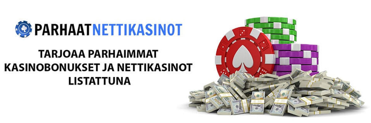 Parhaimmat casinobonukset ja nettikasinot