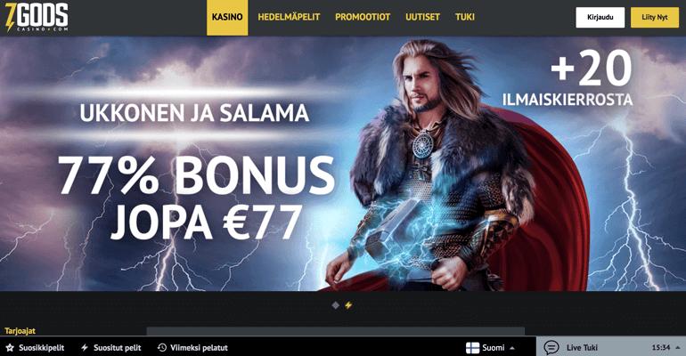 7godscasino bonus