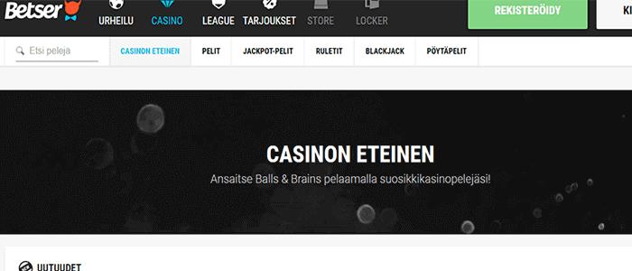 Betser casino bonus
