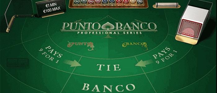 Punto Banco ilmaiseksi