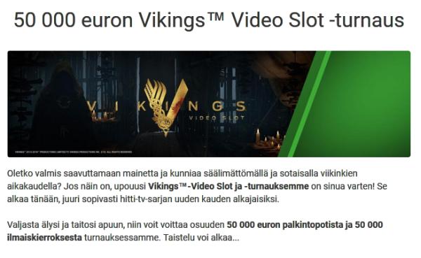 Unibet_Vikings_peli_50_000_euroa_ja_50_000_ilmaiskierrosta