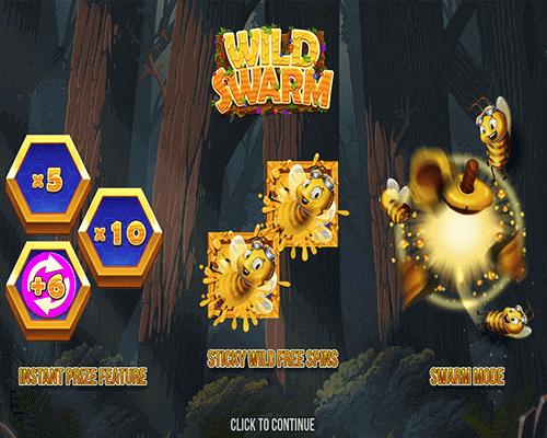 Wild_Swarm_Flash_kolikkopeli