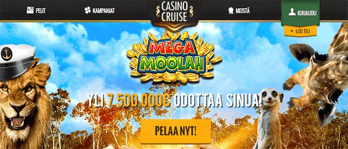 Casino Cruise ilmaiskierrokset