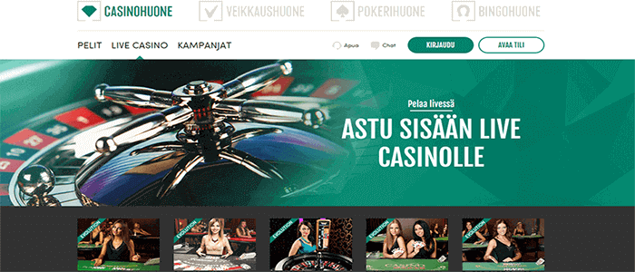 Casinohuone casino bonus
