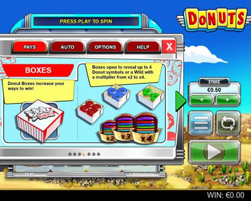 Donuts_Flash_kolikkopeli