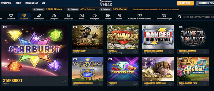 Dreamvegas casino bonus