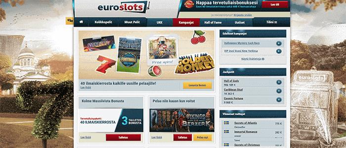 Euroslots casino bonus