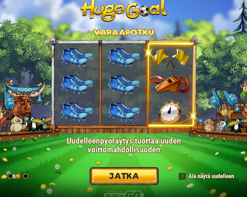 Hugo_Goal_kolikkopeli