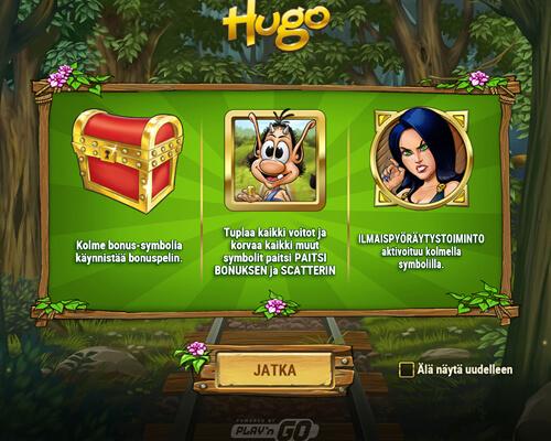 Hugo_kolikkopeli