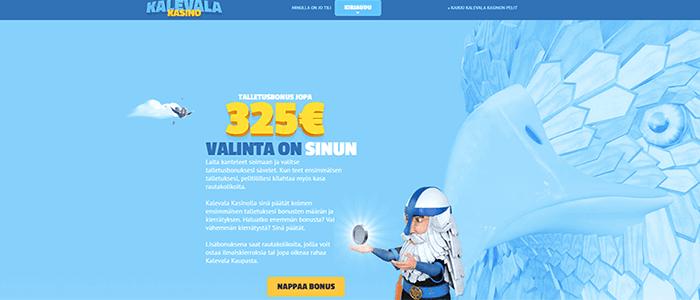 Kalevala Kasino bonus