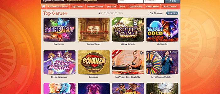 LeoVegas casino bonus