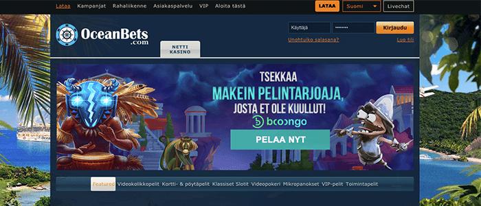 Oceanbets casino bonus