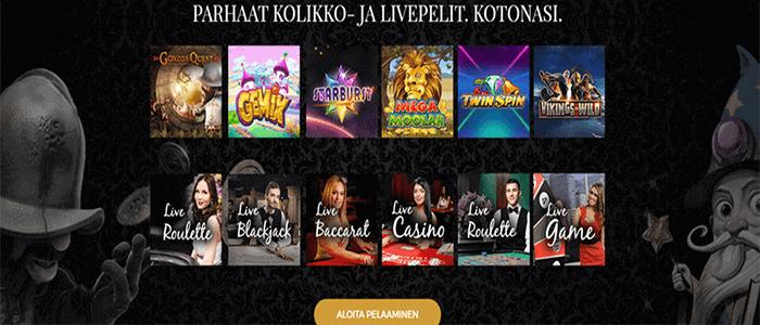Premier Live casino casino bonus