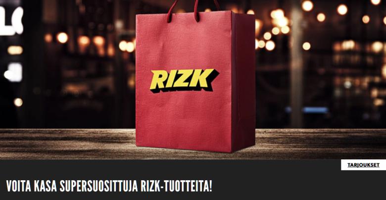 Rizk_arpoo_Rizk_tuotteita_kassillisen