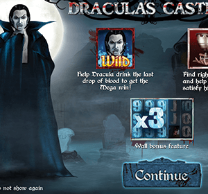 Dracula's Castle kolikkopeli