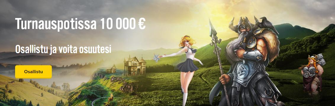 iGame 10 000 euron arvoinen tasoitusturnaus