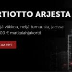 Betsafe - irtiotto arjesta ja 5000 euron matkalahjakortti