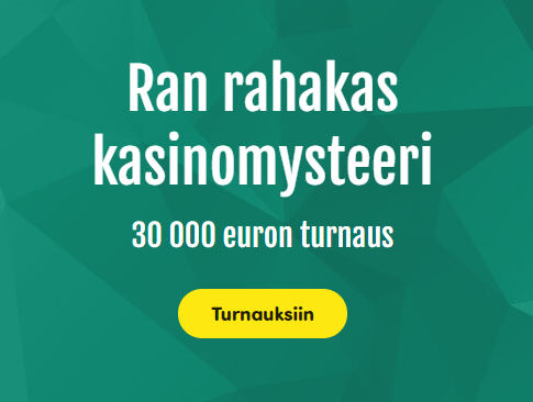 Casinohuone Ra-jumalan 30 000 euron kisa