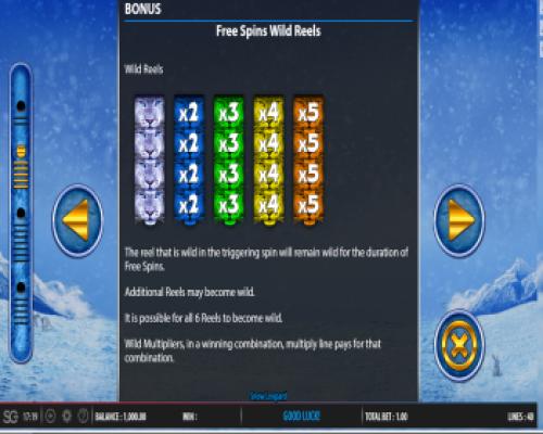 Snow Leopard kolikkopeli