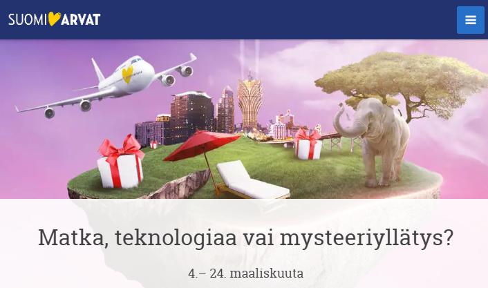 Suomiarvat - Matka, teknologiaa vai mysteeriyllätys