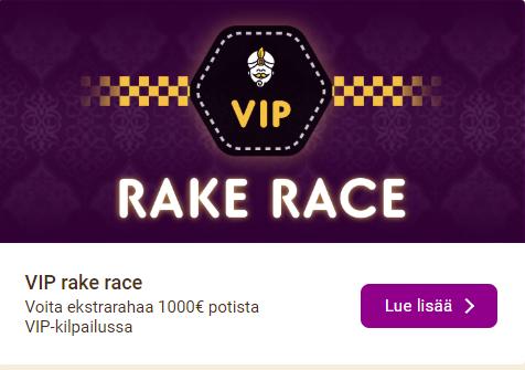 Wild Sultan ja 1000 euron VIP-race
