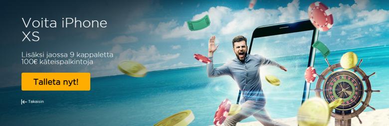 Casino Cruise - voita iPhone XS -puhelin