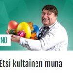 Casinohuoneen kultainen muna ja 2000 euron voitto