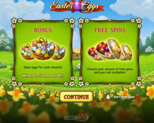 Easter Eggs kolikkopeli
