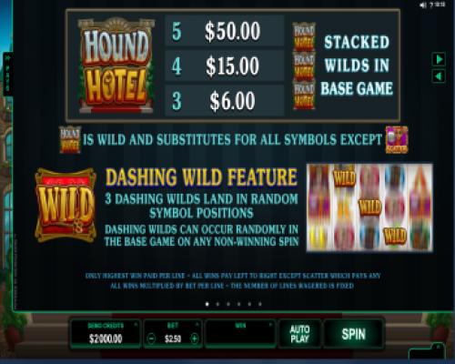 Hound Hotel kolikkopeli