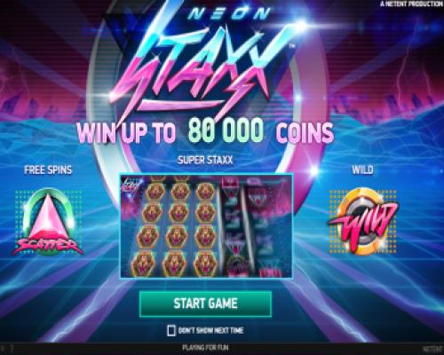 Neon Staxx kolikkopeli