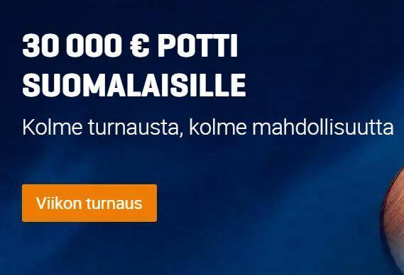 Nordicbet - kolme turnausviikkoa