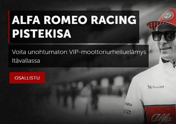 Betsafe ja Alfa Romeo -kisa