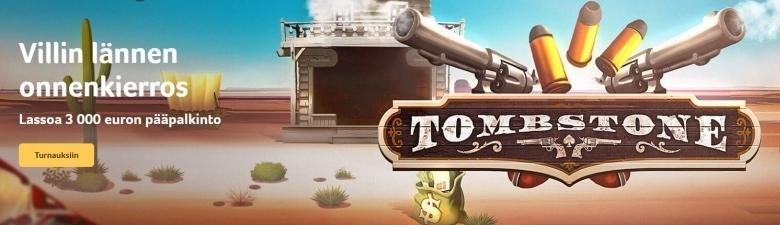 Kolikkopelit ja Tombstone-uutuus
