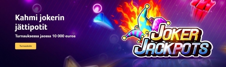 Kolikkopelit - uusi Joker Jackpot -peli