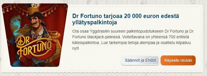 Suomiautomaatti ja yllätyspalkinnot