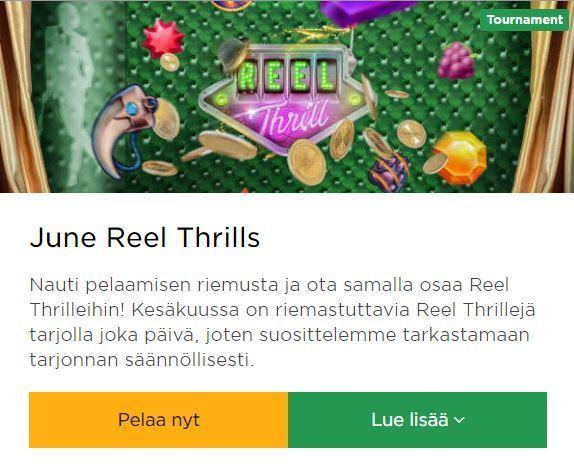 Mr Green - June Thrills