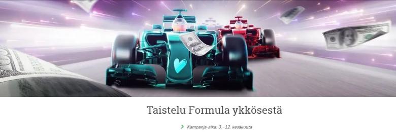 Suomiarvat - formulaelämys