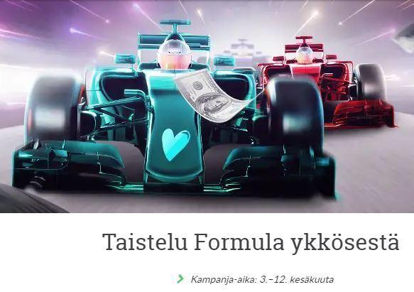 Suomiarvat ja formulaelämys