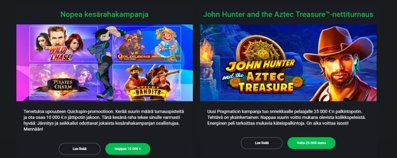 Casino Drift ja kesäkampanjat