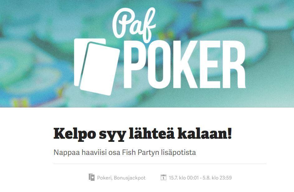 Paf ja Fish Party