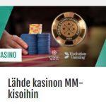 Casinohuone ja World Casino Championship 2019