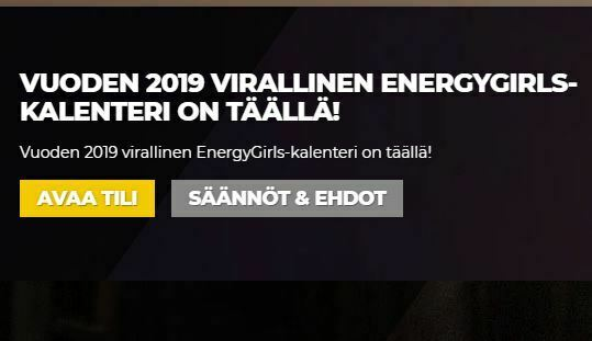 Energy Casinon kalenteri