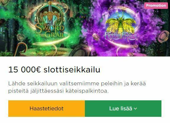 Mr Green ja 15 000 euron haaste